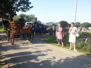 Photo: Burgemeester Van Ruijven opent het 3de historische oogstfeest.