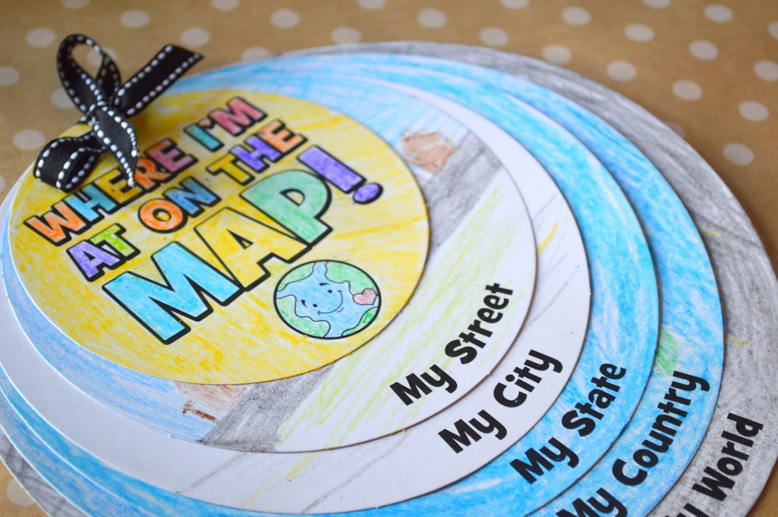 geography map worksheets