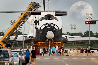 Photo: Space Shuttle Enterprise Lands In Houston Texas