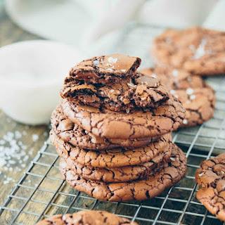 Chewy Brownie Crinkle Cookies Recipe