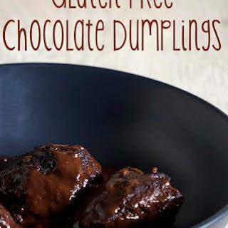 Gluten Free Chocolate Dumplings.