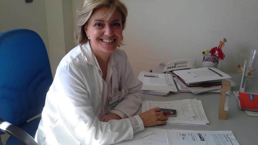 María Dolores del Pino, la doctora cesada.