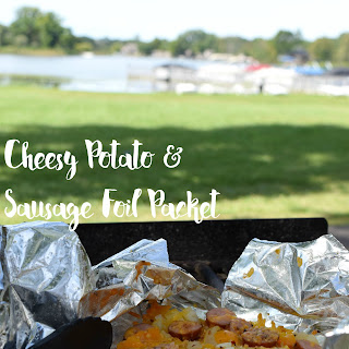 Cheesy Potato & Sausage Foil Packet