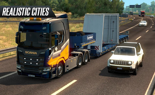 Euro Truck Driving 2018 1.0 screenshots 3