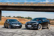 The 2019 Volkswagen Golf R and BMW X2 M35i.