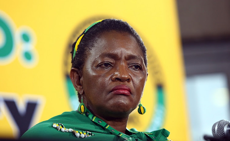 ANC Women's League President, Bathabile Dlamini. Picture: MASI LOSI