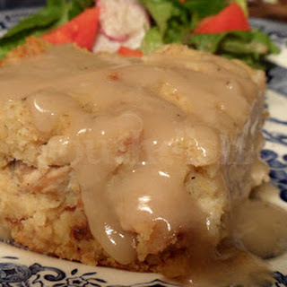 Southern Chicken and Cornbread Dressing