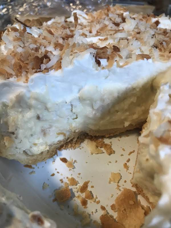 Diner Style Coconut Cream Pie Recipe