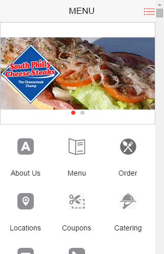 South Philly Cheese Steaks