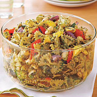 Grilled Vegetable-Pesto Pasta Salad