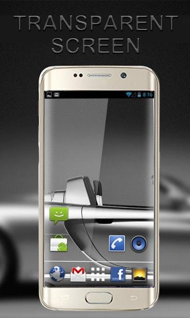 #3. Transparent Screen Wallpaper (Android)