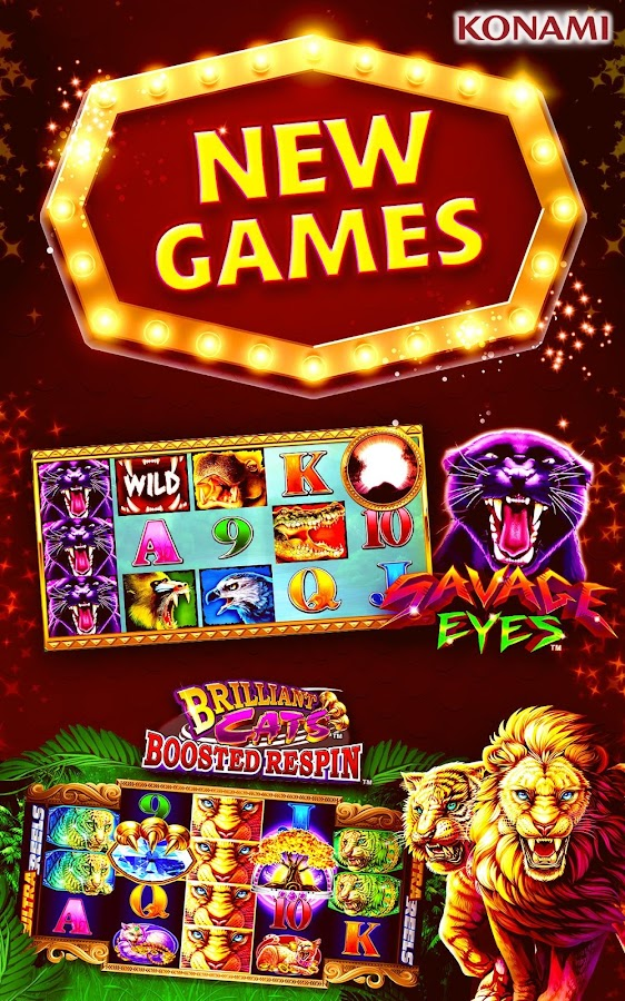 konami casino games