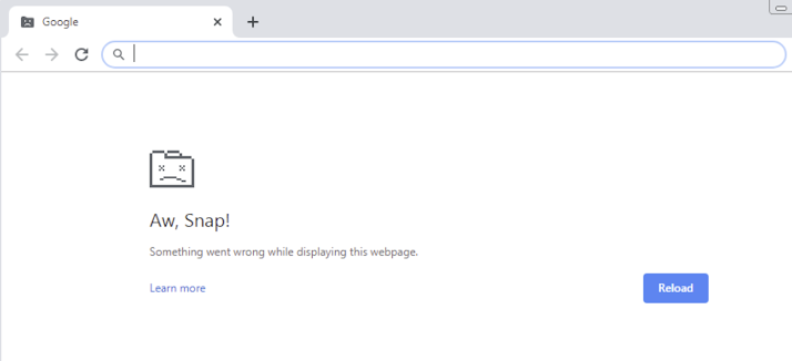 "[Solved] How to Fix ""Aw, Snap! Something went wrong while displaying this webpage"" Error on Google Chrome"