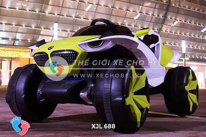 Xe ô tô điện địa hình cho bé XJL-688 2
