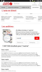 Ouest france le journal applications sur google play - Ouest france le journal gratuit ...