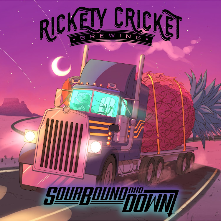 Logo of Rickety Cricket Brewing Sourbound and Down