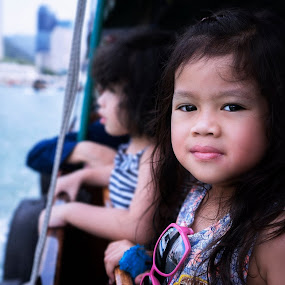 Travel kid by Mohd Nazmie Ab Malek - Babies & Children Children Candids