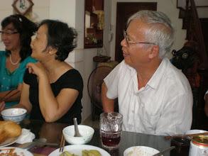 Photo: Cô Diệp và thầy Lê Bách