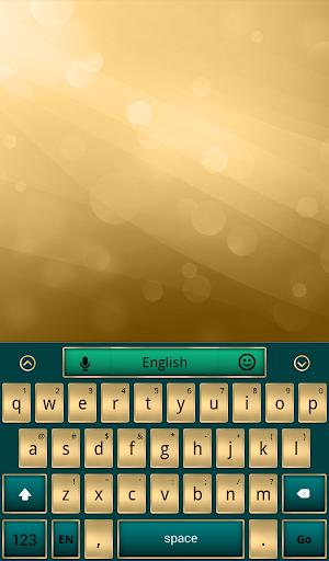 Stylish Gold Keyboard
