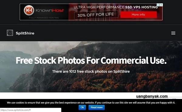 penyedia gambar gratis splitshire untuk keperluan blogging