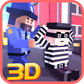 Blocky Robbers VS Cop Craft 3D