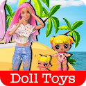 Play With Doll Toys Videos icon