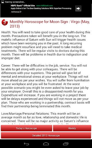 Daily Horoscope 2018 screenshot 16