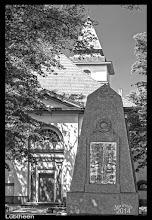 Photo: Baumeister der Klassizistischen Dorfkirche aus dem 19. Jahrhundert in Lübtheen ist wahrscheinlich Carl Heinrich Wünsch, geb. in Celle, gestorben in Schwerin.    Dorfkirchen in Mecklenburg-Schwerin: http://goo.gl/jIwcUq