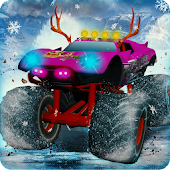 Monster Truck Racing Christmas