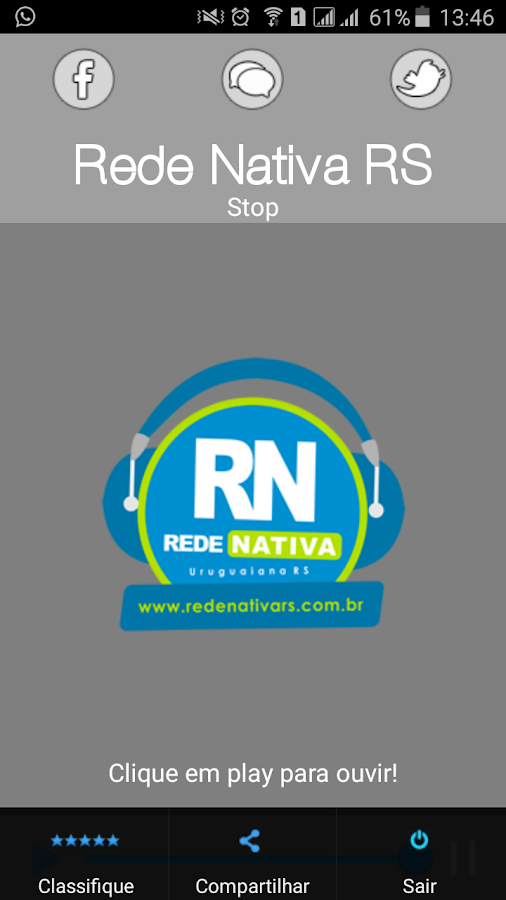 Rede Nativa RS- screenshot