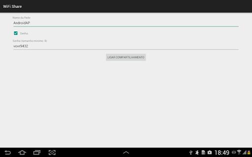 WiFi Share Mobile Data - Router screenshot 4