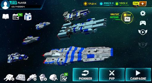 Télécharger Starship Battle  APK MOD (Astuce) screenshots 1