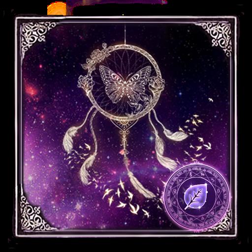Butterfly Dreamcatcher - Purple Theme