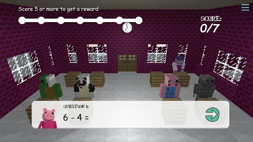 Piggy Scary School Game ! 10.0 screenshots 14
