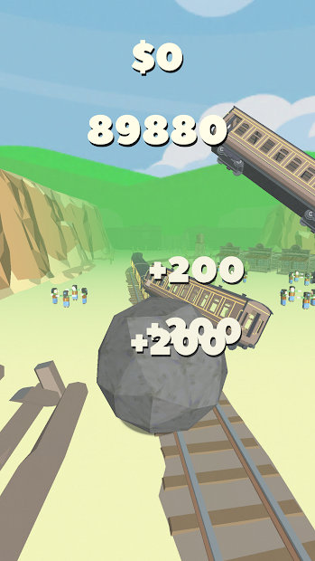 Rock of Destruction! Android App Screenshot