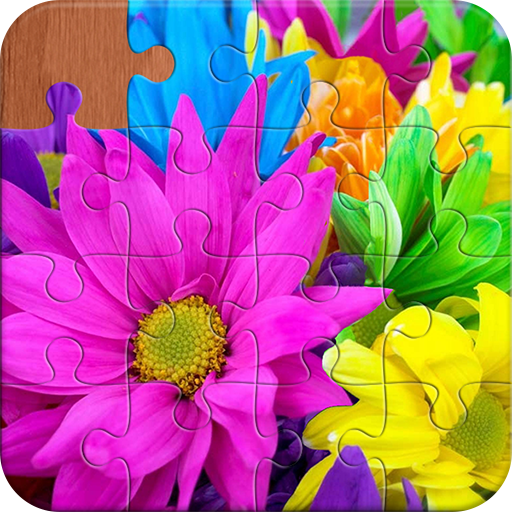 Flowers & Gardens Jigsaw Puzzles Android APK Download Free By HappyOceanPlay