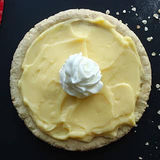 Protein Vanilla Pudding Pie.