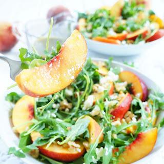 Arugula & Nectarine Salad