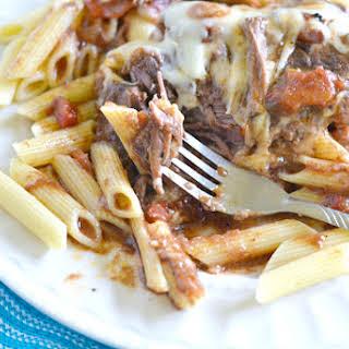 Easy Summer Recipes | Crock Pot Italian Swiss Steak.