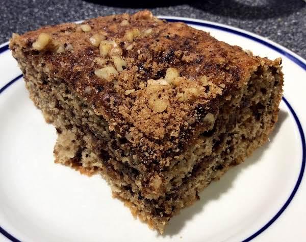 Espresso Walnut Cake Recipe