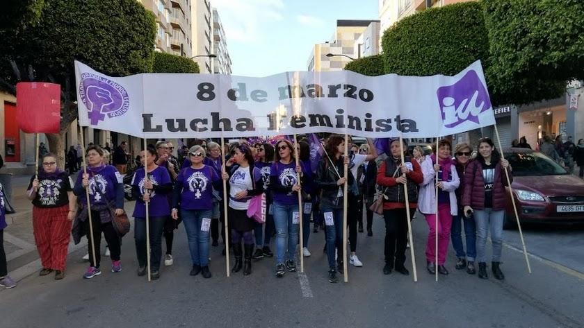 Manifestación del 8M del año pasado