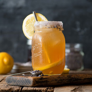Earl Grey Lavender Cocktail.