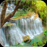 Tile Puzzle Nature Icon