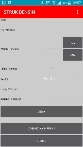Struk Bensin Aplikasi Di Google Play
