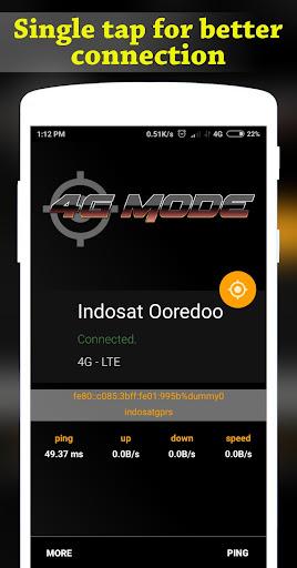 4G Mode | Ping Master 1.0.4 screenshots 1