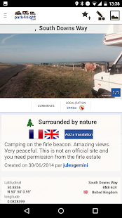 park4night - Motorhome camper- screenshot thumbnail