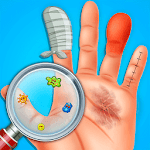 Finger Surgery ER Emergency : Doctor & ICU Game