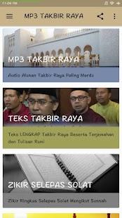 MP3 Takbir Raya - náhled