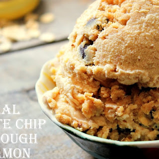 Oatmeal Cookie & Cinnamon Ice Cream