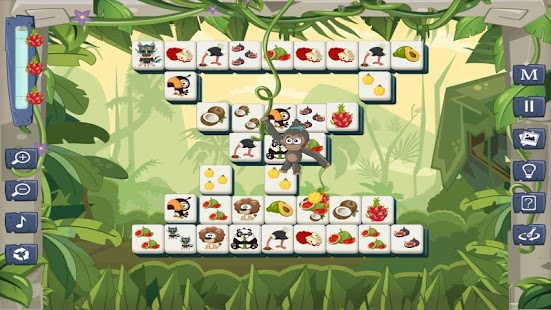 Mahjong Jungle Fruits- screenshot thumbnail
